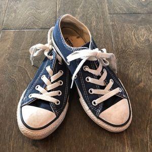 BOYS converse sneakers - navy